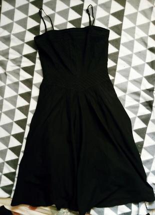 Платье-сарафан на бретельках
