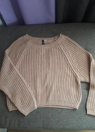 Теплый свитер h&m