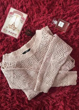 Свитер светр  з люрексовою ниткою р.xs-s