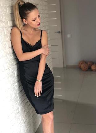 Платье в бельевом стиле dolce&gabbana