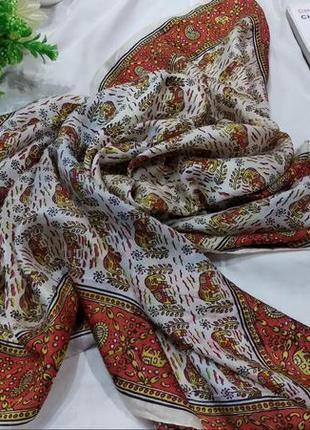 Индийский платок со слонами