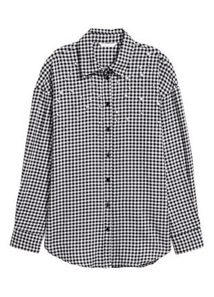 Рубашка с жемчугом h&m