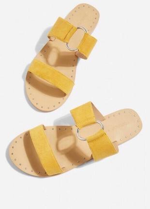 Новые шлепанцы сандали topshop