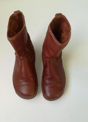 Суперские кожаные сапоги fitflop