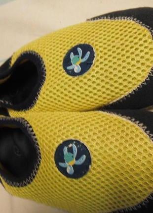 Спортивные кеды тапочки дышащие подойдут для аквапарка, бассейна из англии