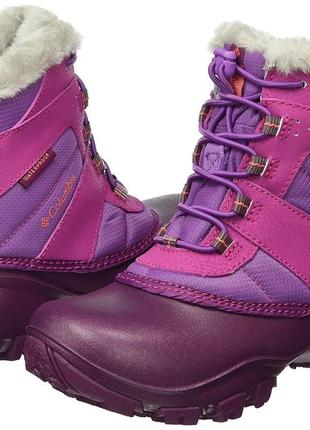 Зимние ботинки columbia rope tow iii. оригинал. youth us 7