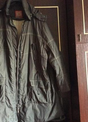 Болоньевая куртка большого размера почти даром!
