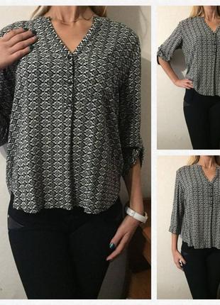 Восхитительная 💕 блуза/ рубашка/ размер l/xl