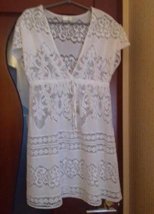 Туничка платье  пляжное