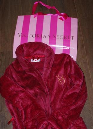 Плюшевый халат victoria's secret