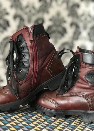 Зимние ортопедические ботинки на девочку