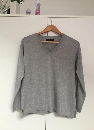 Базовый легкий свитер 50% вискоза