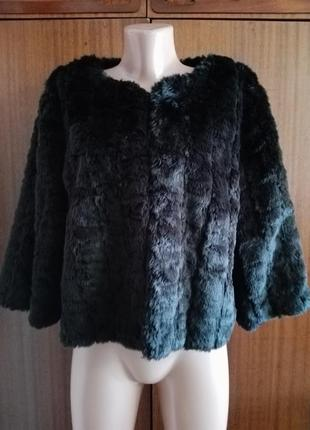 Куртка шуба шубка искусственный мех