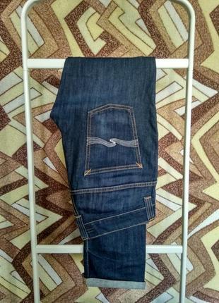 Джинсы nudie jeans organic denim