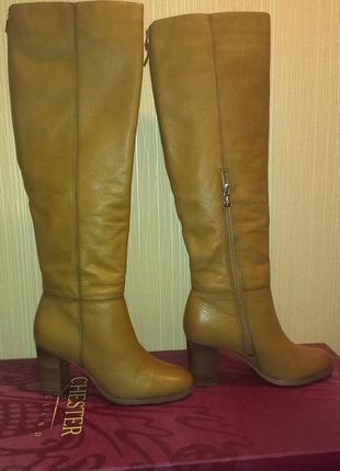 Сапоги зимние кожаные chester 37-38 размер модель gj5786312tna