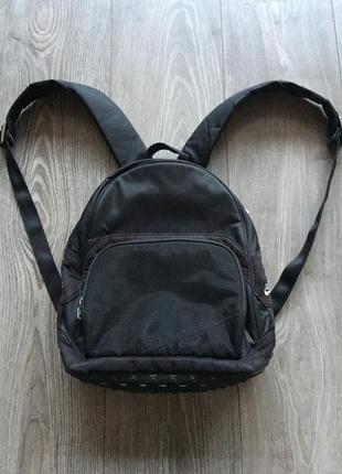Рюкзак спортивный небольшой, маленький, чёрный