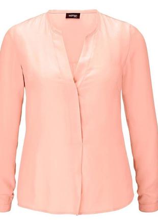 Шифоновая нежная блузка от тсм чибо(германия) размер 38 евро=44