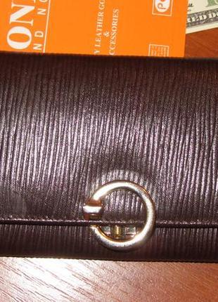 Кожаный кошелёк вond