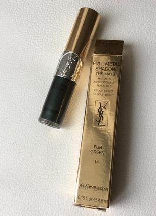 Yves saint laurent full metal shadow the mats жидкие тени для глаз
