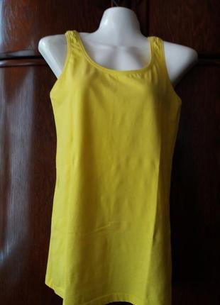 Яркая базовая футболка-janina stretch--12р хорошо тянется
