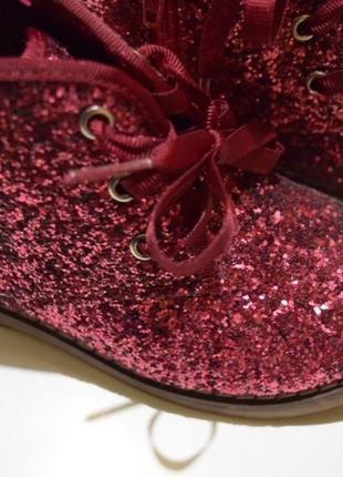 Ботинки boot collection girls 24/7 в блёстках