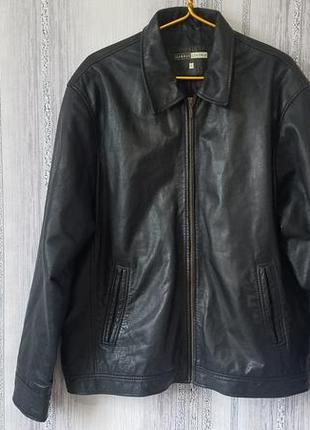 George кожаная курточка пилот-бомбер. xl