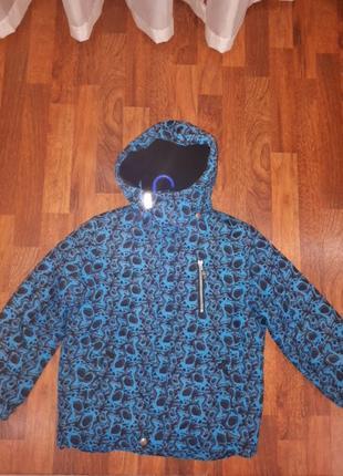Зимняя термо куртка lenne 134 140