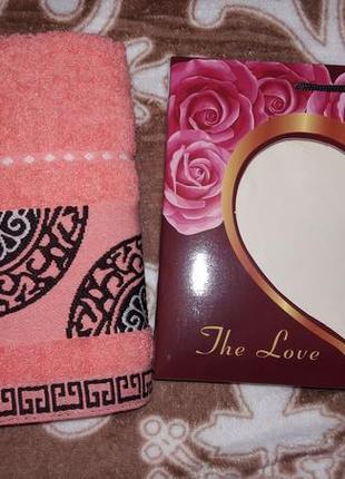 Набор полотенце в подарочной упаковке