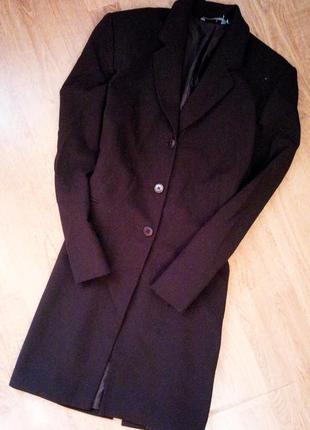 S-m пиджак жакет коричневый классический повседневный