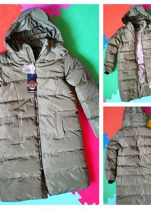 Куртки-пальто зимние на меху от grace. размер 5 -6-8-10-12
