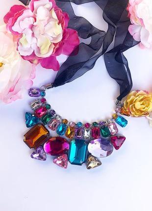 Колье, украшение, бусы, ожерелье