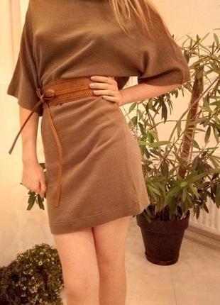 Трикотажное платье модный дом vera