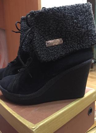 Ботинки на платформе 41 размера!