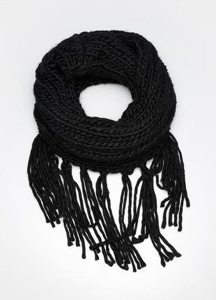 Женский шарф, вязаный шарф