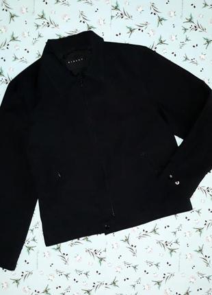 Фирменная черная куртка sisley, размер 50-52