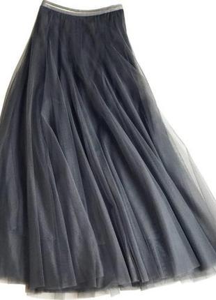 Cora kemperman классная базовая юбка, воздушная макси///