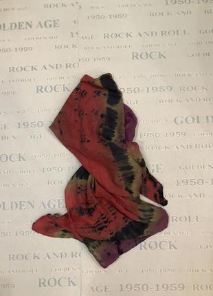 Платок шарф разноцветный