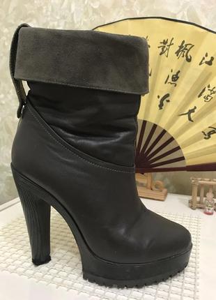 Ботильоны женские на каблуке