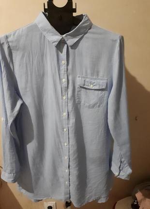 Красивая базовая удлиненная рубашка