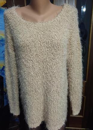 Тепла кофта светр очень теплая кофта свитер