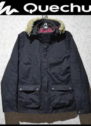 Брендова куртка жіноча decathlon creation quechua m-xl  франція  (женская  теплая) 0df1f5d0e9c87