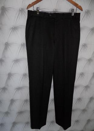 Классические мужские брюки на холодный сезон..шерсть