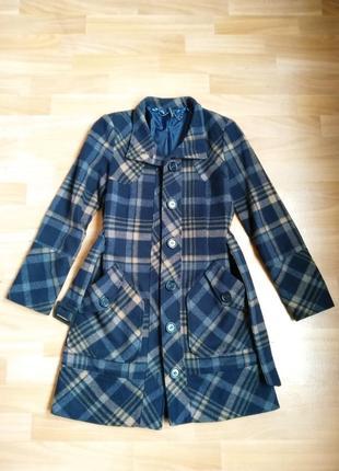 Полушерстяное пальто naf-naf, s