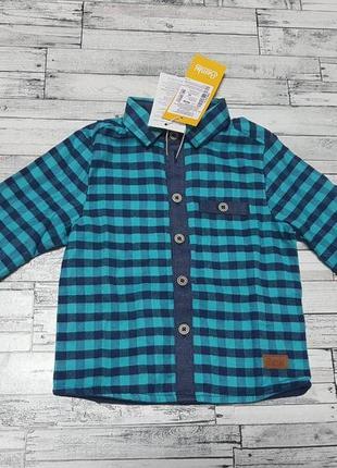 Теплая рубашка бемби р. 80-98