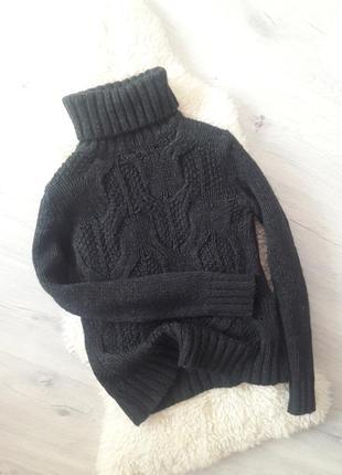 Шерстяной свитер/ вязаный свитерок