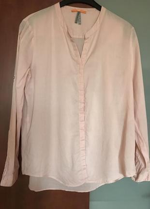 Рубашка hugo boss батистовая размер 38 или м