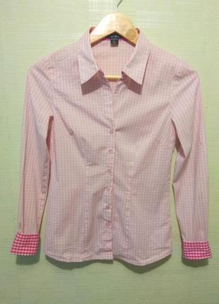 Рубашка в клетку amisu р.s