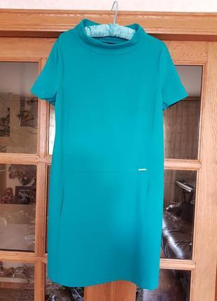 Платье деми трикотаж плотный
