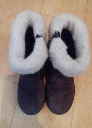 Сапоги кожаные деми geox. 15.5 см