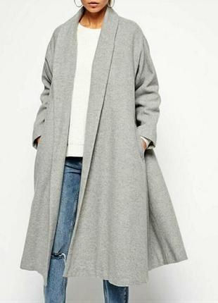 Пальто трапеция новое